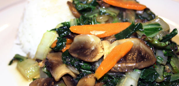 Vegetable Stir Fry - Mostly Meatless Almost Vegetarian Recipes