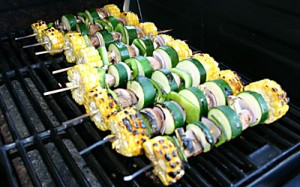 Vegetable Kabob Step 10 - Mostly Meatless Almost Vegetarian Recipes