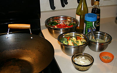 Bowtie Pasta Primavera Step 6 - Mostly Meatless Almost Vegetarian Recipe