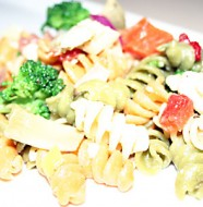 Pasta Salad - Mostly Meatless Almost Vegetarian Recipes