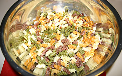 Pasta Salad - Step 4 - Mostly Meatless Almost Vegetarian Recipes
