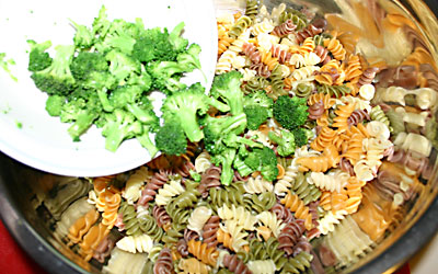 Pasta Salad - Step 5 - Mostly Meatless Almost Vegetarian Recipes