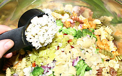 Pasta Salad - Step 10 - Mostly Meatless Almost Vegetarian Recipes