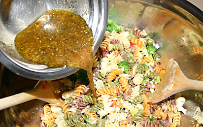 Pasta Salad - Step 13 - Mostly Meatless Almost Vegetarian Recipes