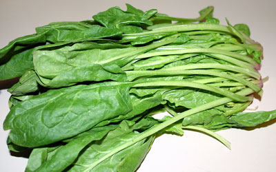 Walnut Cranberry Spinach Salad Step 1 - Mostly Meatless Almost Vegetarian Recipes