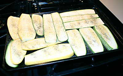 Grilled Vegetable Panini Step 2 - Mostly Meatless Almost Vegetarian Recipes