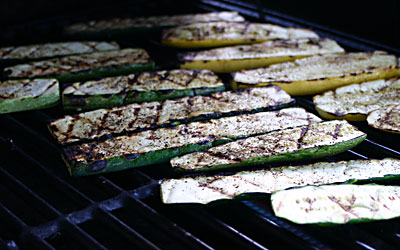 Grilled Vegetable Panini Step 4 - Mostly Meatless Almost Vegetarian Recipes