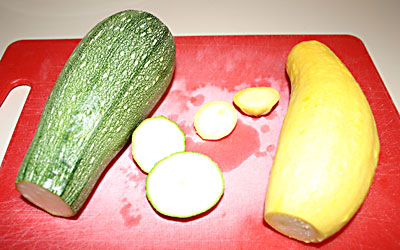 Stuffed Summer Squash Step 2 - Mostly Meatless Almost Vegetarian Recipes