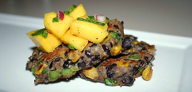 Corn & Black Bean Patties