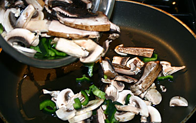 Mushroom Enchiladas Step 8 - Mostly Meatless Almost Vegetarian Recipes