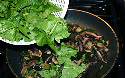 Mushroom Enchiladas Step 9 - Mostly Meatless Almost Vegetarian Recipes