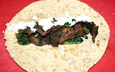 Mushroom Enchiladas Step 12 - Mostly Meatless Almost Vegetarian Recipes