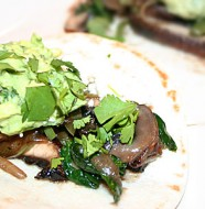 Grilled Portabella Fajitas - Mostly Meatless Almost Vegetarian Recipes