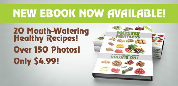 Mostly Meatless Almost Vegetarian Recipes Volume One eBook now available